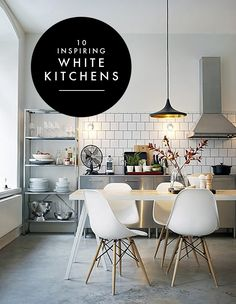 10 Inspiring White Kitchens