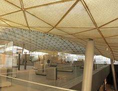 Department of Islamic Art - Louvre Museum - Rudy Ricciotti and Mario Bellini, architects Norman Foster, Zaha Hadid, Bellini, Contemporary Architecture, Architecture Art, Design 3d, Louvre Paris, Museum, Architectural Elements