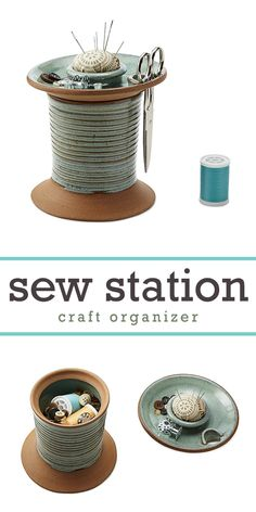 totally in love how to sew organizer easy to use and keep sewing essentials in one place! | craft organizer | craft organization #Ad