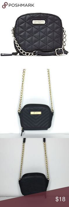 Jessica Simpson Mini Crossbody In great condition with angled lines design of leather in good condition inside of the first pocket is clean in second pocket has removable signs of wear. Cover photo is a similar style Jessica Simpson Bags Crossbody Bags