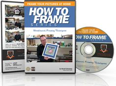 Needlework Framing Techniques reveals the methods for framing cross-stitch and other works on fabric. Part of the How to frame DVD series