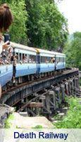death rail way line, the most dangerous curving bridge