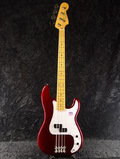 Brand new fender Japan PB57-US OCR オールドキャンディアップルレッド [fenderjapan] [Precision Bass, precision bass, preve, Old Candy Apple Red, red Electric Bass, electric bass