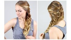 Braids can be casual, sophisticated, or anything in between. Kayley Melissa shows you how. Medium Hair Braids, Braids For Short Hair, Braided Bun Hairstyles, Cool Hairstyles, Beautiful Hairstyles, Hairdos, Updos, Kayley Melissa, Sophisticated Hairstyles