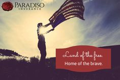 Land of the free, home of brave #america #USA @paradisoins