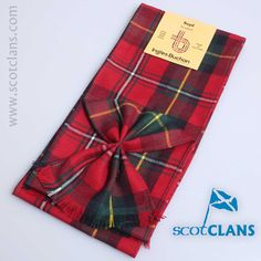 Boyd Modern Tartan Mini Sash from ScotClans