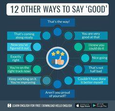 English English, English Words, English Grammar, English Language, Vocabulary Sentences, Other Ways To Say, English Activities, Kids Behavior, Learning English