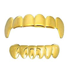 Gold Plain Vampire Fangs Top & Bottom Row Teeth Grillz Hip Hop Bling Grillz L & L Nation http://www.amazon.com/dp/B00EG1UBEO/ref=cm_sw_r_pi_dp_0D32vb0M7SAP9