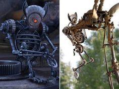 Desktop1 - Скульптуры в стиле стим-панк - Из металла - Фотоальбом - Скульптуры из металла