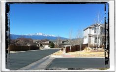 The perfect view from Springs Ranch Neighborhoods in #coloradosprings.