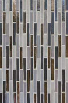 Mercury Mosaics | Stix - 815R Ash, 553 Bronze, 815W Light Grey, 1024 Antique Pewter