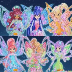 Besides Enchantix, this has to be the most beautiful transformation yet! Soo much better than Bloomix and Butterflix *gag* Las Winx, Flora Winx, Barbie Images, Bloom Winx Club, Nickelodeon Cartoons, Baby Doll Clothes, Illustrations And Posters, My Childhood, Cool Art