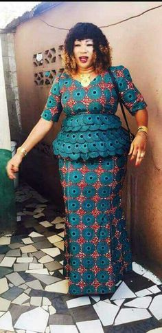 Special Ankara Materials Worn by the Typical African Mothers - WearitAfrica African Inspired Fashion, Latest African Fashion Dresses, African Dresses For Women, African Print Dresses, African Print Fashion, Africa Fashion, African Attire, African Wear, African Women
