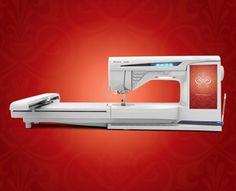 Husqvarna Viking Diamond Embroidery & Sewing Machine...love this machine , one of my summer hobbies.