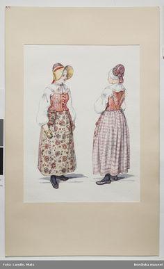 20+ bästa bilderna på Folkdräkt | dräkter, svenskt mode, kläder