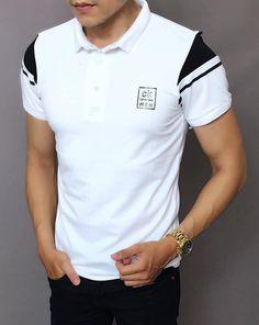 👕Áo thun nam dây kéo thời Trang ➡️Chất liệu: thun cotton co giãn 4 chiều,mượt,dày dặn,không xù lông,không rút,thấm hút mồ hôi ✏️Size: XL,XXL,XXXL(tương đương M,L,XL) 〽️Màu sắc:4 màu như hình 👍Hàng chuẩn shop(hình ảnh chụp thật,xấu hoàn tiền 200%) Zalo: 0932064341 Polo Shirt Style, Polo Shirt Outfits, Polo T Shirts, My T Shirt, Camisa Polo, Track Pants Mens, Fashion Photography Poses, Men Looks, Superdry