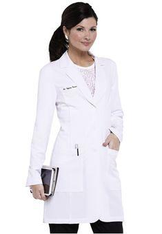 Greys Anatomy Signature Soft Stretch Lab Coat w tablet pocket. - Scrubs and Beyond