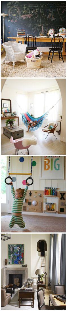 Amazing Playroom Ideas #kidsrooms