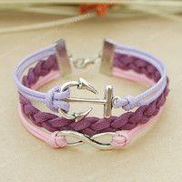 heart knot bracelet - Google Search