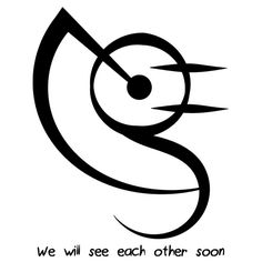"""""""We will see each other soon"""" sigil requested by anonymous Wiccan Symbols, Symbols And Meanings, Viking Symbols, Egyptian Symbols, Viking Runes, Ancient Symbols, Symbolic Tattoos, Wiccan Tattoos, Practical Magic"""
