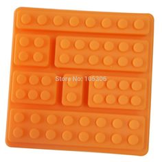 3D Brick Pattern Princess Silicone Fondant Mould Cake Ice Paste Mold 10cm