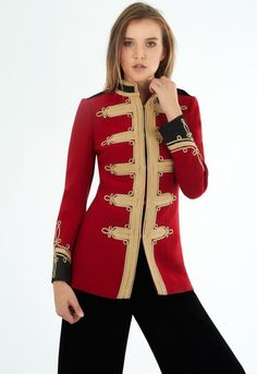 Limited Edition Women's blazers and jackets. Handcrafted finishes, exclusive models and unique designs. Jackets Made in Spain for women THEEXTREME COLLECTION Cool Jackets, Military Jacket, Knitwear, Blazer, Model, Sweaters, Embroidery, Collection, Nice