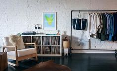 Remodelista: Sourcebook for Considered Living  storage for the records and record player <3