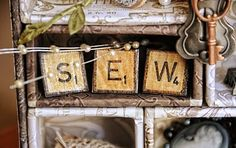 how to make your own scrabble tile letters