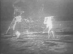 Neil Armstrong em 1969. O primeiro homem na lua