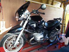 BMW R1100R Transported Wirral