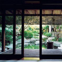 Japanese garden at Kenzo Takada's residence
