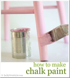 How to make and paint with chalk paint. All your questions answered here. This covers everything you need to know aboutso you will have success.