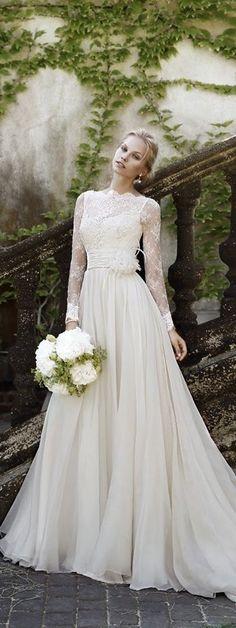 Tuscan Wedding, Garden Wedding, Blush, Ivory, Wedding Dresses, Color, Fashion, Bride Dresses, Moda