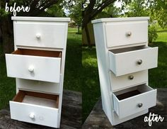 Before and after - DIY Estate Sale Hack (or Thrift Shop Redo)