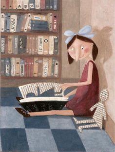 LecturImatges: la lectura en imatges #biblioteques_UVEG