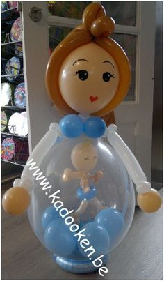 16 ideas for baby shower gifts diy for boys balloons Its A Boy Balloons, Baby Shower Balloons, Baby Shower Cakes, Baby Shower Parties, Baby Shower Themes, Baby Boy Shower, Baby Shower Gifts, Baby Balloon, Balloon Crafts