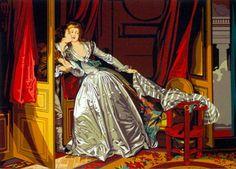 goblen tablolar, baskılı goblen Ünlü tablolar Goblenci'de YENİDEN STOKTA!!! www.goblenci.com #goblen #etamin #kanavice #goblenci