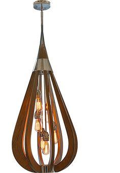 Camden.48 6 Light Pendant, Pendants, Contemporary, New Zealand's Leading Online Lighting Store
