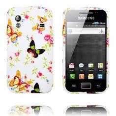 Paradise Have (Orange og Sort Sommerfugle) Samsung Galaxy Ace Cover