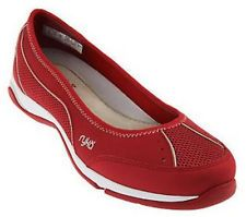 Modern Flat Red Ryka Shoes With Thick Sole Download Picture Of Ryka Shoes