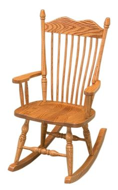 Amish Hoosier Rocker Handcrafted in northern Indiana, this country style rocker offers maximum comfort.