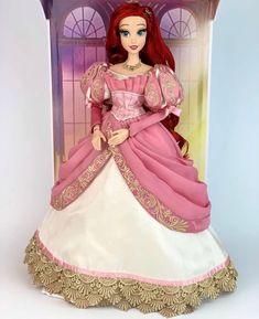 Disney Barbie Dolls, Ariel Doll, Disney Princess Dolls, Disney Animator Doll, Disney Princess Dresses, All American Doll, Disney Movie Collection, Dessin My Little Pony, Barbie Diorama