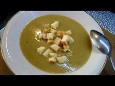 Hrachová polévka ze suchého hrachu - YouTube The Creator, Soup, Ethnic Recipes, Youtube, Soups, Youtubers, Youtube Movies