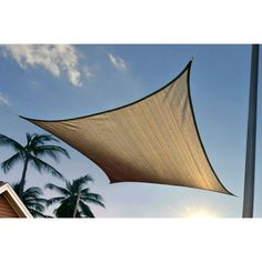 Gander Mountain® > Sun Shade Sail Square 12 x 12 - Camping > Tents & Shelters > Shelters and Screenrooms :