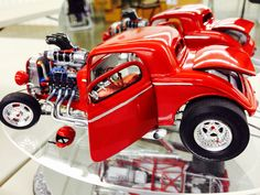 1934 Pro Street Ford Coupe by Richard Geis - scale model