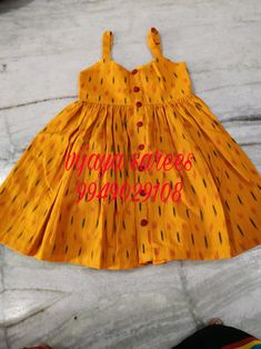 Baby Girl Dress Design, Girls Frock Design, Kids Frocks Design, Baby Frocks Designs, Baby Girl Frocks, Baby Girl Party Dresses, Frocks For Girls, Girls Dresses Sewing, Dresses Kids Girl