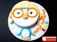 4th Birthday, Birthday Cake, Penguin Cakes, Foundant, Devils Food, Cake Designs, Arctic, Cake Ideas, Party Time