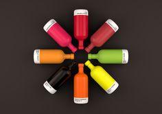 Absolut Pantone il nuovo colorato packaging per la famosa vodka svedese affidato al talentuoso progettista Txaber