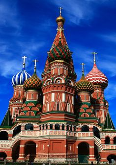 St. Basil's Cathederal, Red Square, Moscow