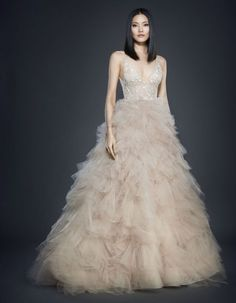 Opulence and Romanticism: Lazaro 2017 Wedding Dress Collection Image: 0